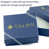 TAHMI HANDMADE JEWELRY ANTI-TARNISH STORAGE BOX