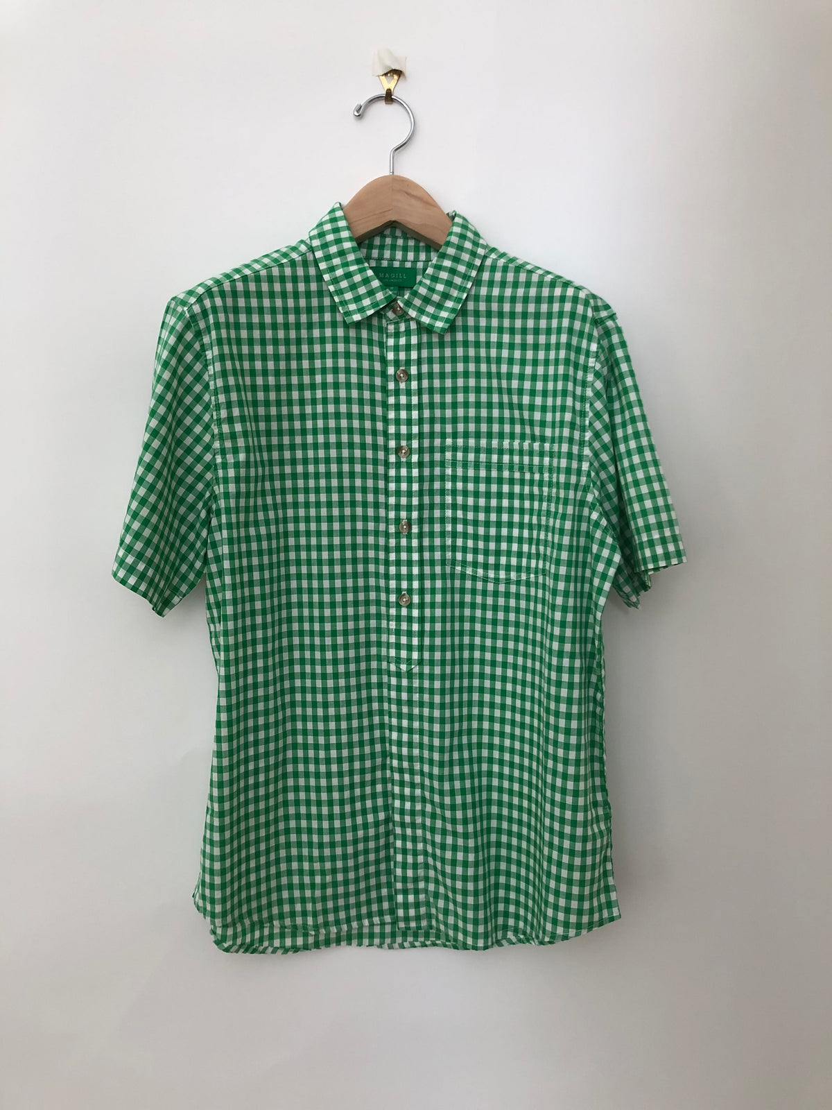 ELLIS - GINGHAM SHIRT - 4 COLORS