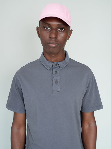 PAXTON  Garment-dye polo - Gray