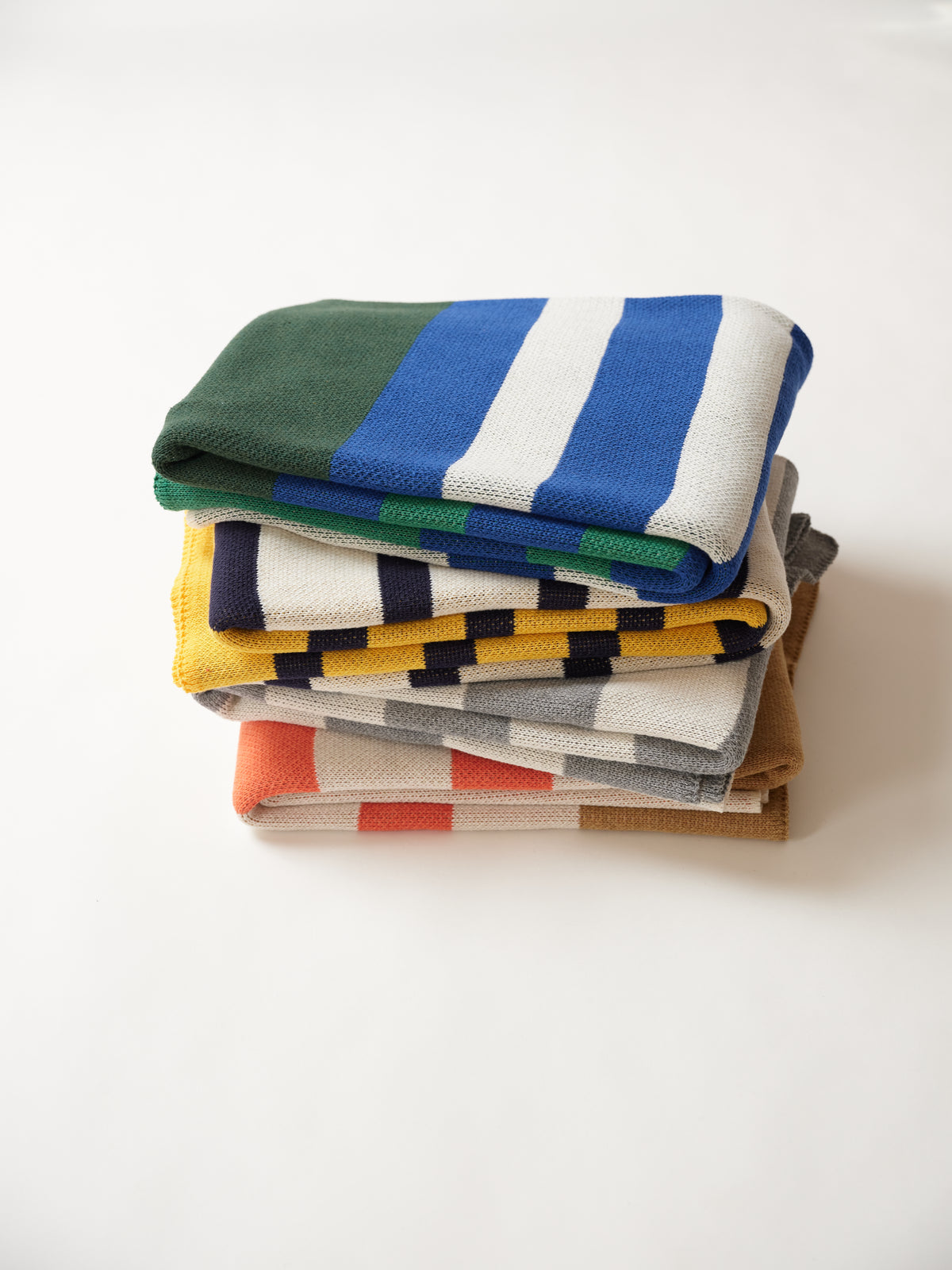 RUGBY BLANKET - navy/green