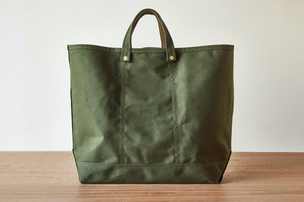 Magill X Nickey Kehoe Canvas Tote, Olive