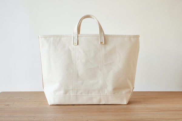Magill X Nickey Kehoe Canvas Tote, Natural