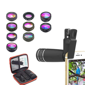 Telephoto Camera Phone Lens Kit - Phonetographr