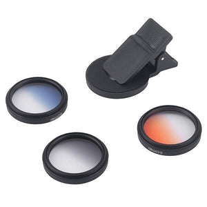 3 in 1 Phone Camera Lens Filter Kit - Phonetographr