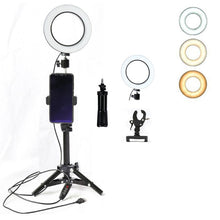 YouTube Live Streaming Video Kit With Dimmable Ring Light - Phonetographr