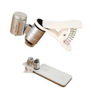 Microscope Macro Lens With Optical Zoom-60X Magnification-Universal - Phonetographr