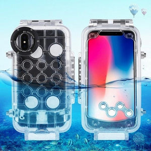 Professional Waterproof Diving Case For iPhone X 40m/130ft - Phonetographr