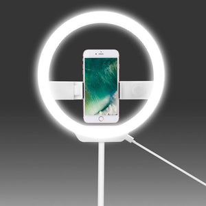Camera Phone LED Ring Light - Phonetographr