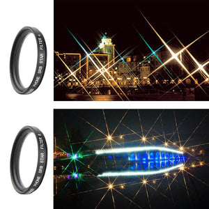 Star Cross Filter With 4/6/8 Point-Universal Clip - Phonetographr