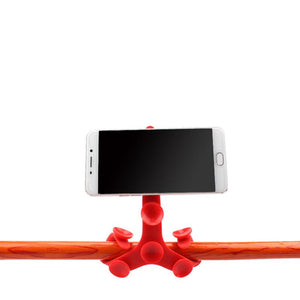Octopus Flexible Silicone Suction Cup Tripod - Phonetographr