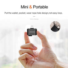 128G Iphone storage adapter with Micro SD Card slot for ios 11 10 - Phonetographr