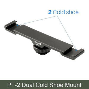 Dual Cold Shoe Mount - Phonetographr