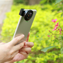 238 Degree Fisheye Lens-Full Frame-Universal Clip - Phonetographr