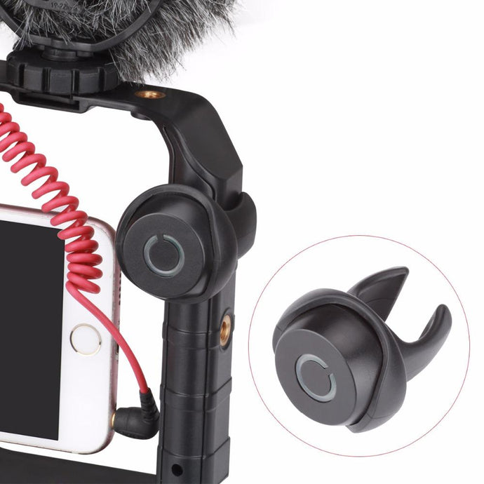Wireless Shutter Release For U-Rig Pro - iPhone X 8 Android Clip-on Wireless Shutter Release - Phonetographr