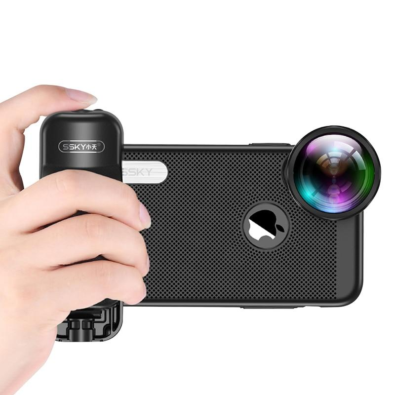 Bluetooth Photo Stabilizer with Shutter Release for iPhone X 8 7 Xiaomi Huawei Samsung - Phonetographr
