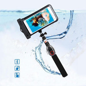 Waterproof Bluetooth Selfie Stick - Phonetographr