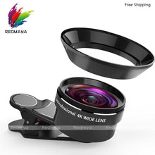 Wide Angle Lens-Universal Clip-18mm - Phonetographr