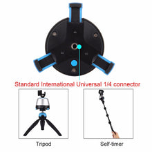 360 Degree Rotation Panoramic Tripod Head with Remote Control - Phonetographr