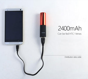 Portable Mini Lipstick External Phone Charger 2400mAH - Phonetographr