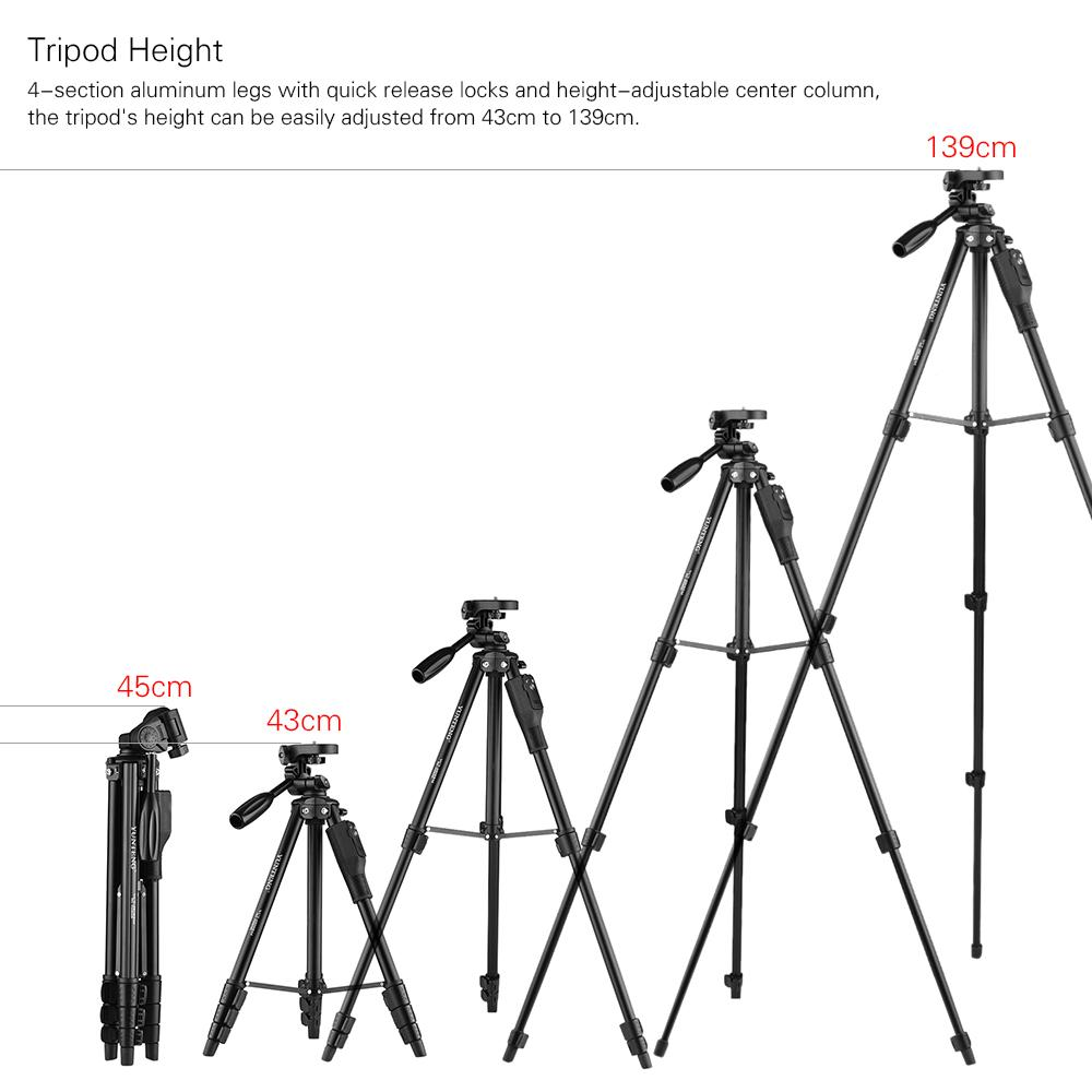 phone tripod live show w   phone holders and remote control