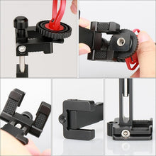 Tripod Mount With Cold Shoe Clip Holder and Microphone/Light - Phonetographr
