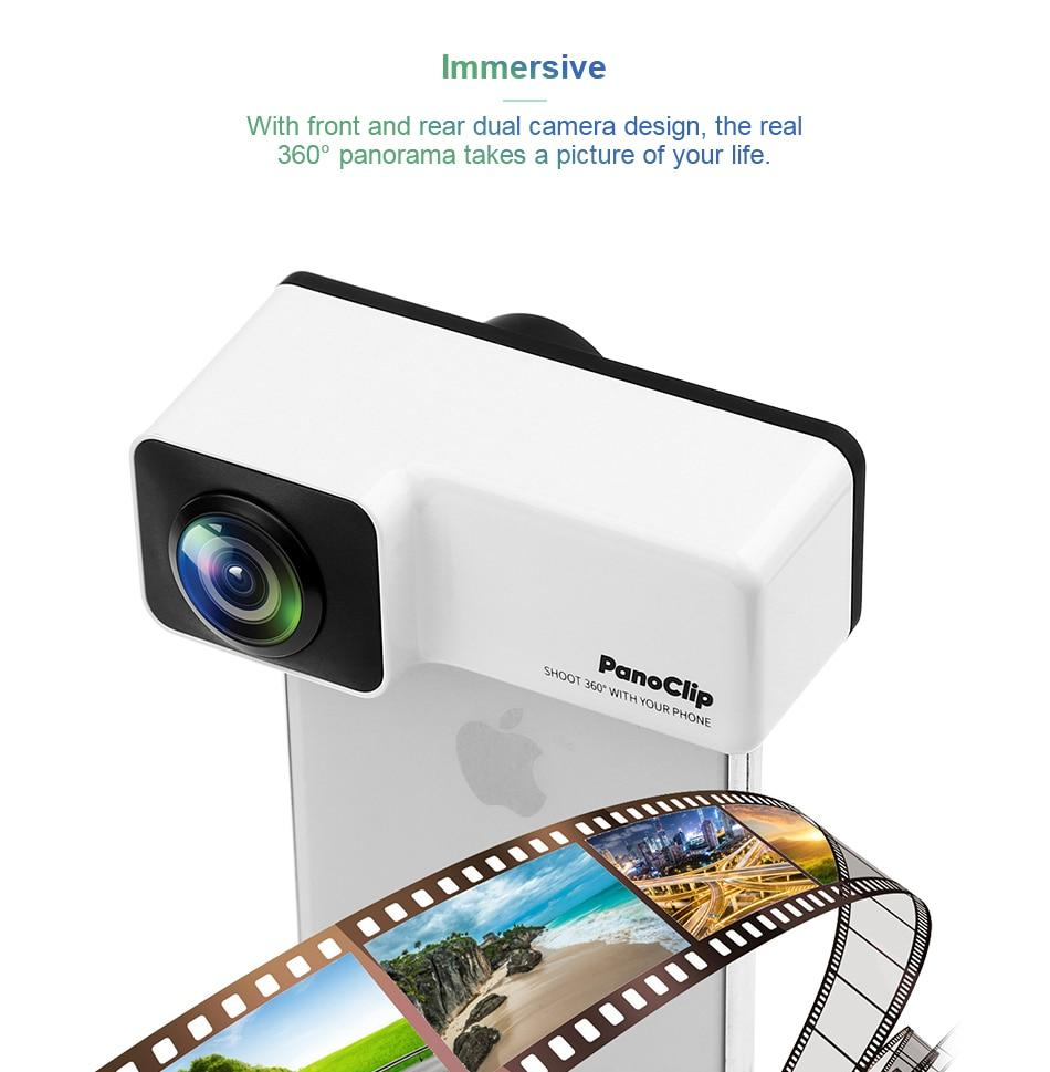 360 Degree Panorama Phone Lens Kit For iPhone 7/8 X