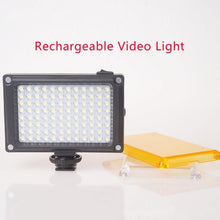 112 LED Dimmable Video Light - Rechargeable - Phonetographr