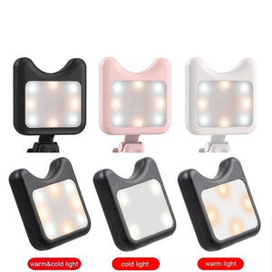 Portable LED Light for Phone Camera - Phonetographr