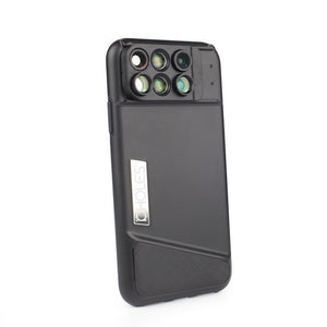 Camera Phone Case With 6 in 1 Lenses For iPhone X - Phonetographr