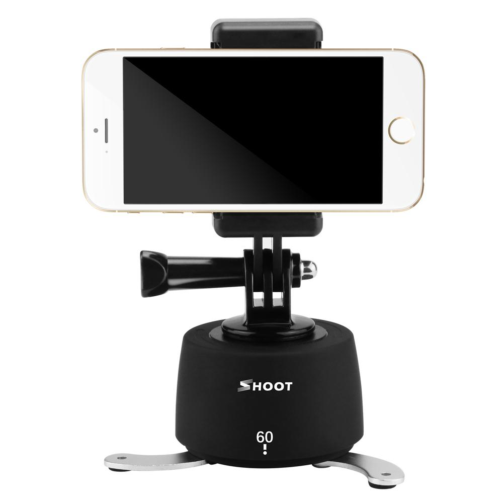 360 Degree Time Lapse Pan and Tilt Head Mount for Phone/GoPro/DSLR - Phonetographr