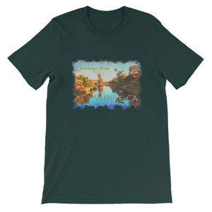 GFV-Colorful Canals-Short-Sleeve Unisex T-Shirt