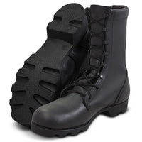 Leather Combat Boot 10""