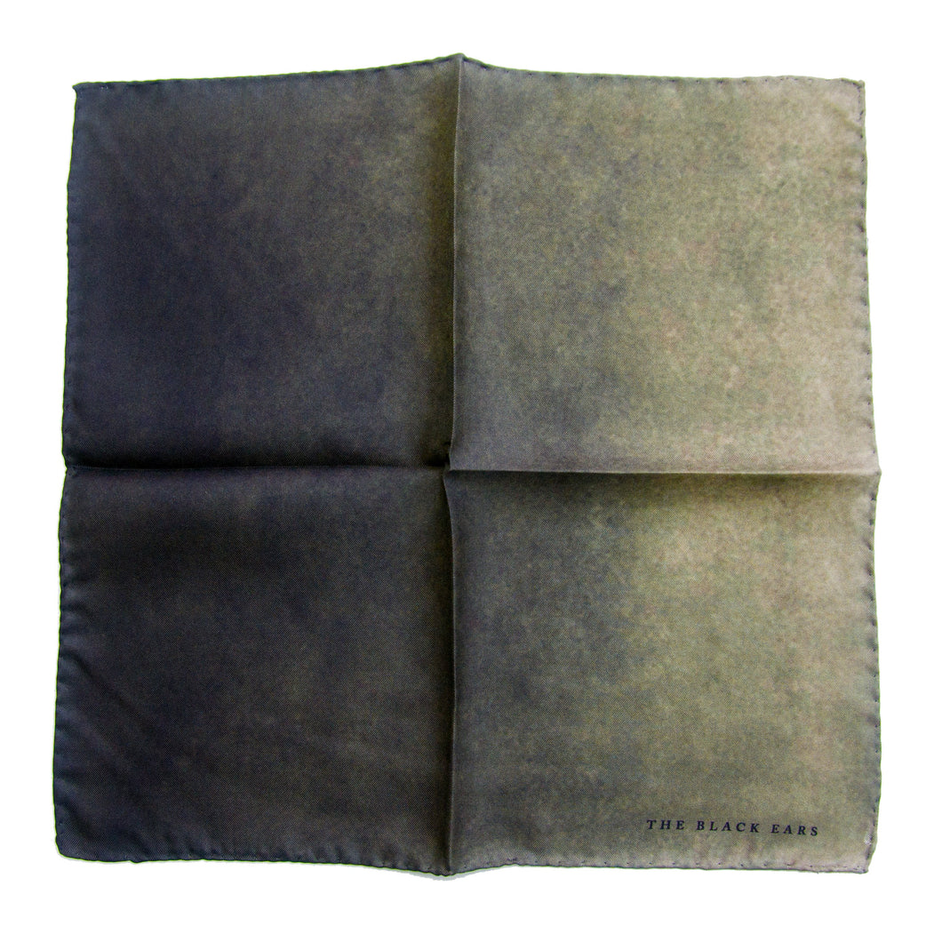 The Green Stone Silk Pocket Square - THE BLACK EARS