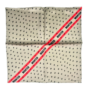 The Wanted Silk Pocket Square / Bandana
