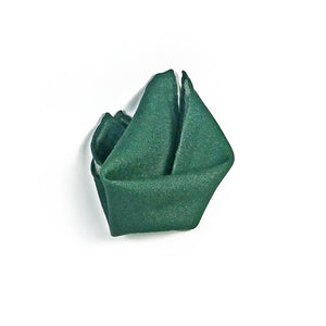 The Western Green Wool Pocket Square - THE BLACK EARS