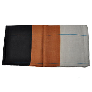 The Forest Colours Wool Scarf - THE BLACK EARS