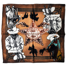 The Western Colours Wool Bandana - THE BLACK EARS