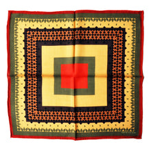 The Traditional Wool Bandana - Red - THE BLACK EARS