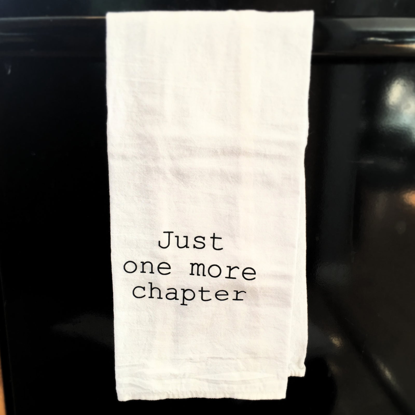 Towel: Just one more chapter