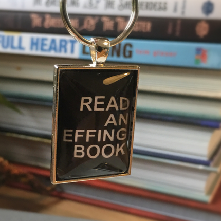 Keychain: Read An Effing Book