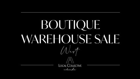 HELLO RUBY BOUTIQUE WAREHOUSE SALE A LOCAL COLLECTIVE OMAHA BOUTIQUE