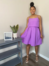 Amari Skirt Set (Lavender)