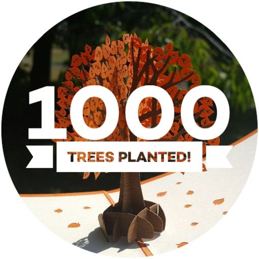 1000 Trees Planted!