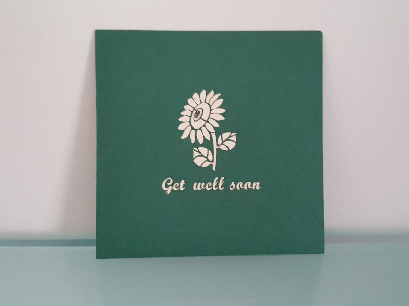 Get Well Soon Sunflower