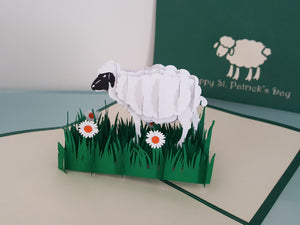 St Patrick's Day Sheep