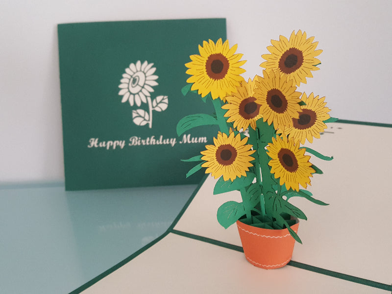 Sunflowers for Mum