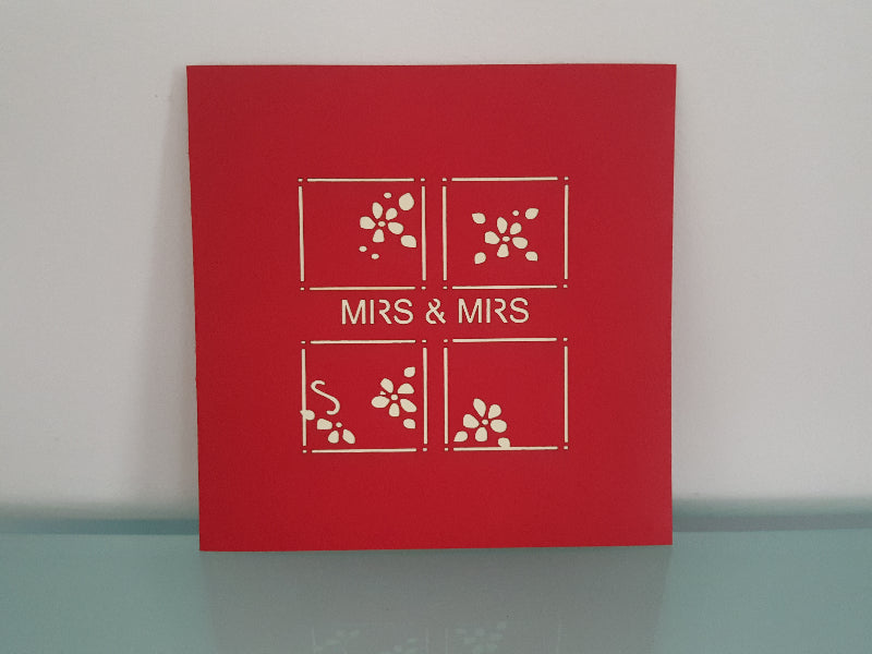 Mrs & Mrs Heart (Same Sex)