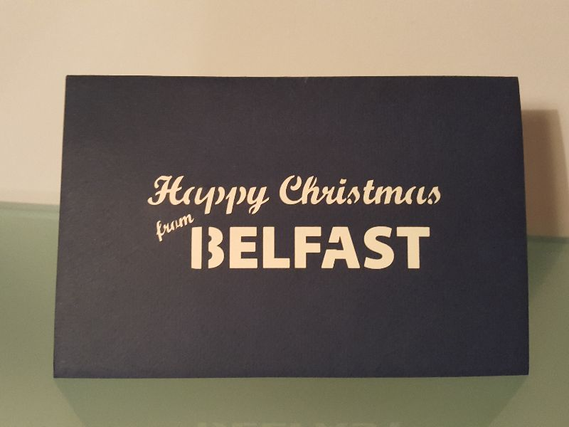 Happy Christmas from Belfast