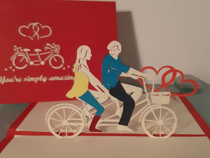 'You're simply amazing' Tandem Bike