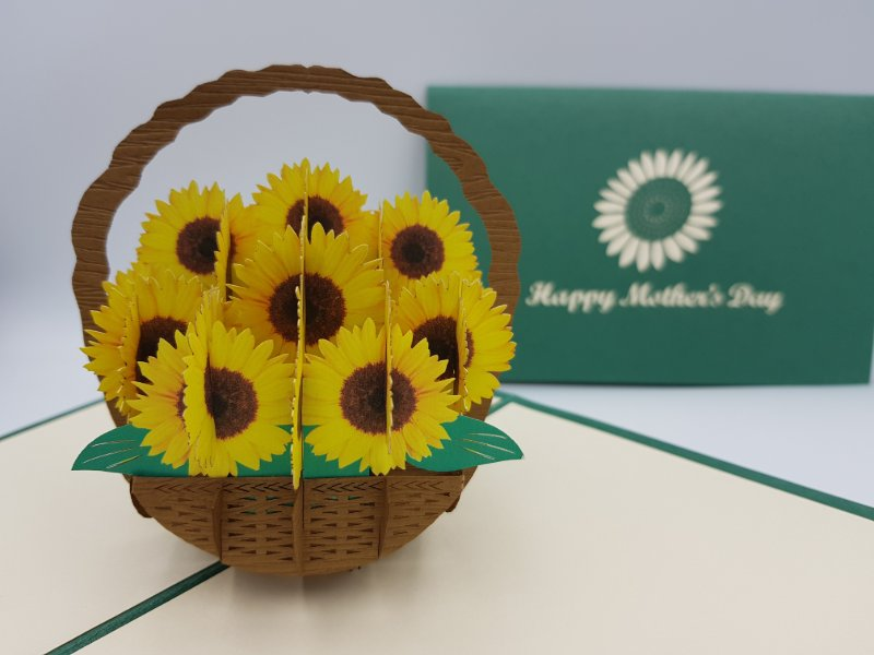 Mother's Day Sunflower Basket